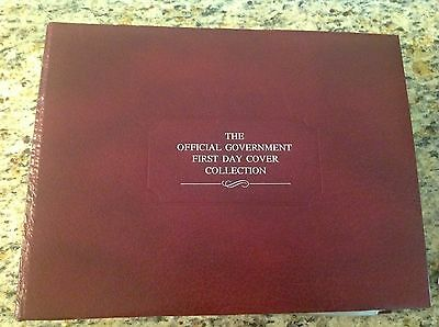 The Official Government 109 First Day Covers Collection Franklin Philatelic MINT