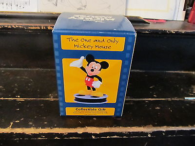 """Mickey Mouse """"The One and Only"""" figurine from Lorus NEW IN BOX"""