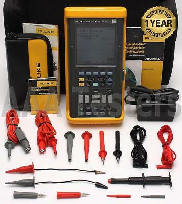 Fluke 105B ScopeMeter Series II 100MHz HandHeld Oscilloscope Scope Meter 105