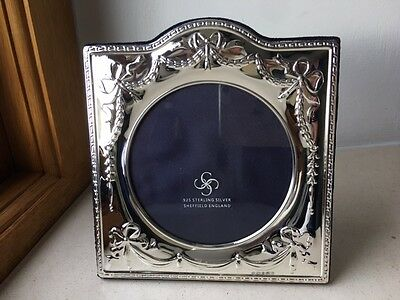 Carrs of Sheffield 925 Solid Silver SQUARE photo picture frame, 3.5 x 3.5 inches