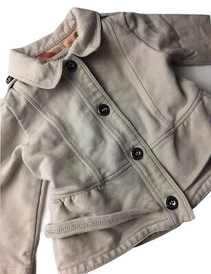 Authentic Burberry Designer Coat Baby Girls Cute Jacket Kids Children 6M 67cm
