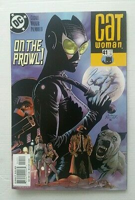 DC Comics - CATWOMAN - Issue # 41 - May 2005 inc Lord of The Rings Trivia Cards