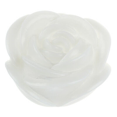 New 7Color Romantic Changing LED Floating Rose Flower Candle Night Light FK