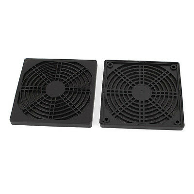 2 x protective grille finger guard 120mm PC Computer Case Cooler J2S9