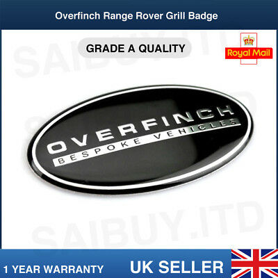 Range Rover Sport Vogue Overfinch Front Grill Black Badge X1