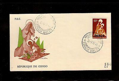 Congo 1960 First Day Cover #353 Christmas !!