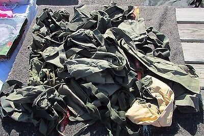 Lot of 23 Vintage U.S. Military and other Ammo Carrier Bandoleers • $20.49