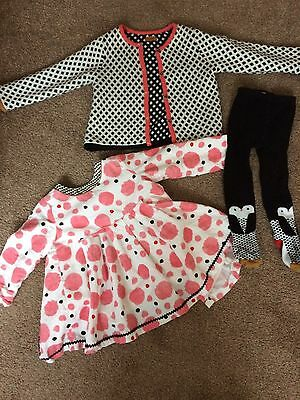 Girls 12-18 Month Catimini 3 Piece Outfit