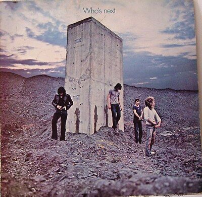 The Who Who's Next  Track LP 2408102 A1/B2 VG++