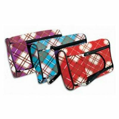 Pencil Pouch, Double Zipper, Strap Pencil Case - Design & Colors may vary
