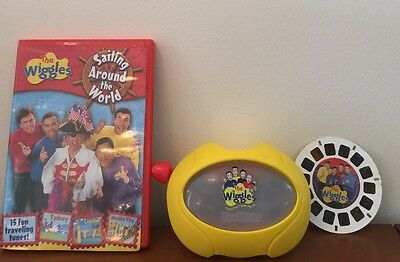 The Wiggles Lot Wiggles View Master, 1 Slide & Sailing Around the World DVD