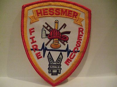 fire patch  HESSMER  FIRE RESCUE LOUISIANA