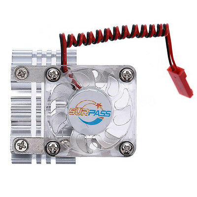 High Quality Motor Heat Sink With Cooling Fan for 1/10 RC Racing Car PK