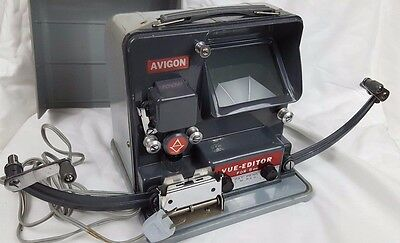Vintage Avigon Vue-Editor for 8mm  Not Tested