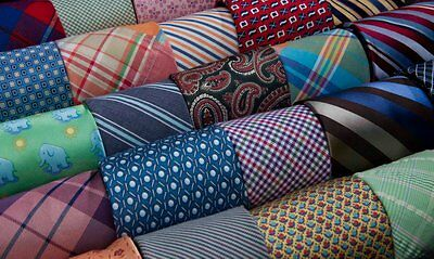 Start Your Business Mens Neckties Silk Polyester Vintage Mix Package Online Sale