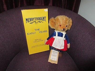 Merrythought Bear - Mrs Twisty Cheeky - Limited Edition - Boxed
