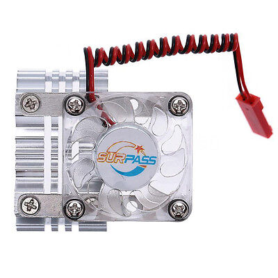 High Quality Motor Heat Sink With Cooling Fan for 1/10 RC Racing Car FK