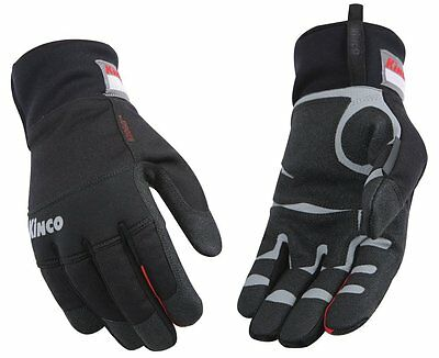 Kinco 2060 Mens Lined Waterproof Gloves Synthetic Leather Winter Work