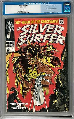 Silver Surfer #3 CGC 6.5 (OW) 1st Mephisto
