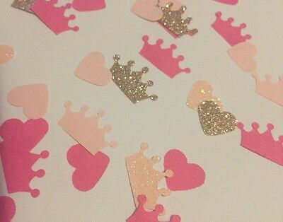 Princess Birthday Party Table Confetti Sprinkles Barbie Pink And Gold