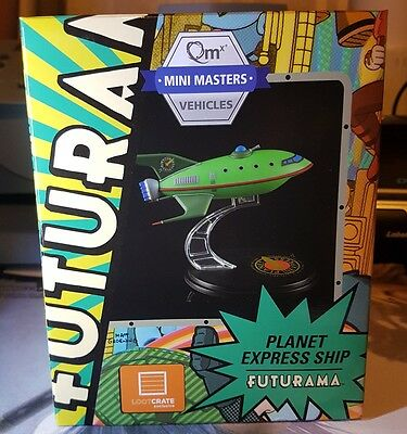 Futurama Planet Express Ship Mini Masters Vehicles Lootcrate Exclusive