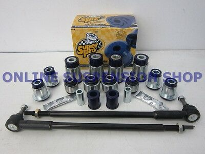 Suits Ford Falcon AU IRS SUPER PRO Rear Suspension Bush Kit SUPERPRO