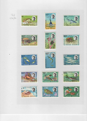 1968 BR IND OCEAN TERRITORY set to 2r.25 SG 16/27 - CV £37. Lovely fresh LHM.