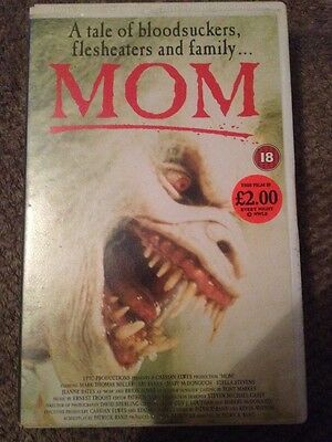 MOM VHS Video - Ex Rental Large Case - Flesh Eating Horror