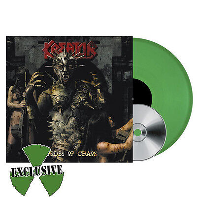 Kreator - HORDES OF CHAOS 2017 limited green vinyl LP album 200 only NEW SEALED