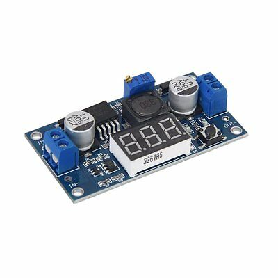 LM2577 DC-DC adjustable step-up power supply module 3-digit display FK