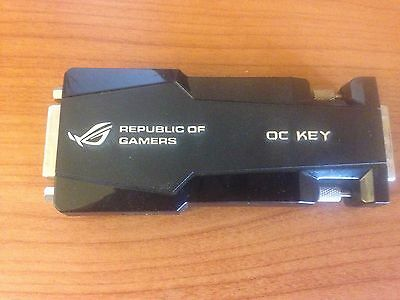 OC KEY for Overclocking Republic of Gamers ROG FREE POST