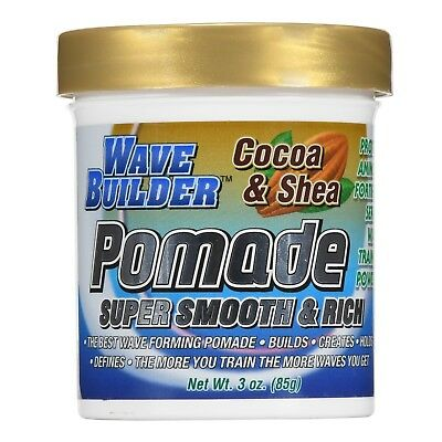 Wave Builder Cocoa and Shea Super Smooth and Rich Pomade 3oz