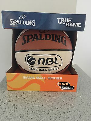 Spalding Game Ball Series Indoor/outdoor Basketball Size 7 Brand New In Box