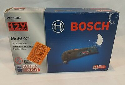 BOSCH PS50BN - 12 V Multi-X Oscillating - Tool Only with L-Boxx Insert