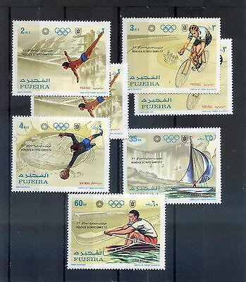 FUJEIRA - Munchen Olympic game 72 - MNH -