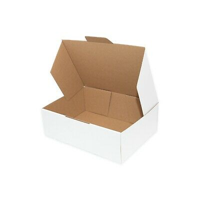 50x Mailing Box 250x180x75mm DIECUT Folding Fit Australia POST 3KG Satchel Bag