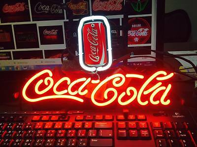 "Cola Coke Soda Can Pepsi Poster Beer Bar Lamp Tin Nascar Neon Light Sign 13""x7"