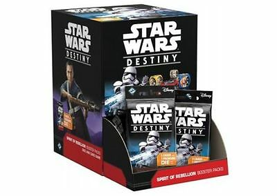 Star Wars Destiny Spirit of the Rebellion Booster Box (36 Packs) Factory Sealed