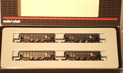Marklin  Z:  82590 Railroad  Hopper 4 car Set *Chesapeak & Ohio*