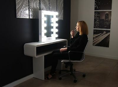 Hollywood Makeup Mirror lights Vanity Lighted Theatre Beauty Accessories White
