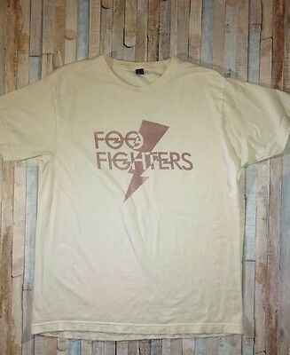 Foo Fighters Concert Short Sleeve T Shirt Size Large