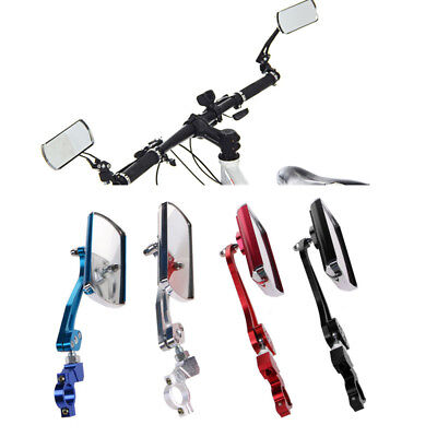 Cycling Bike Bicycle Classic Rear View Mirror Handlebar Safety Flexible Rearview