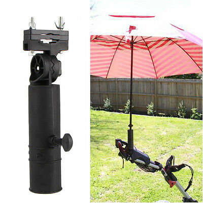 Durable Golf Club Umbrella Holder Stand For Buggy Cart Baby Pram Wheelchair Bike