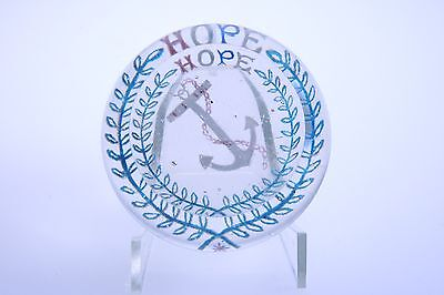 Hope Paperweight 4 color Millville Whitall Tatum Ex-Gaskill coll. South Jersey