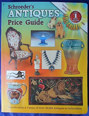 Schroeder's Antiques Price Guide 26th Edition 2008 Book