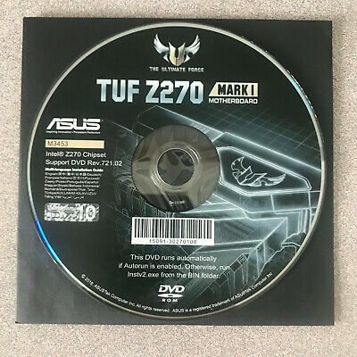 """NEW"" ASUS TUF Z270 MARK 1 Motherboard Drivers Installation DVD"