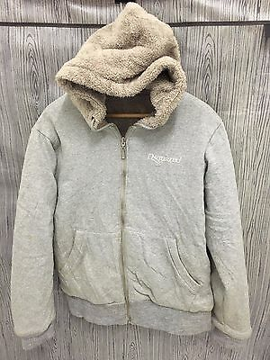 Dsquared D2 Fur  Heat Garments Made In Italy Hoodie Reversible Jacket