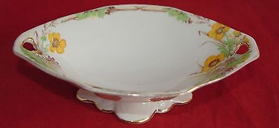 1930s Royal Winton SILVERDALE Footed Bowl - Marguerite/Daisies