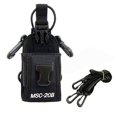 Portable For Motorola Kenwood Baofeng TwoWay Radio Nylon Case Bag Multi-function