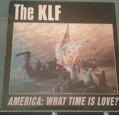 "THE KLF America: What time is love 12""vinyl  KLF USA 4X 1992"